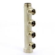 Коллектор НВ 3/4 никелированный ITAP 3 выхода 1/2 Н 38мм