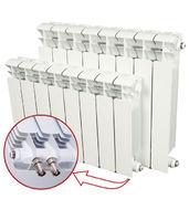 Алюминиевый радиатор отопления Rifar Alum Ventil 500 / 9 секций