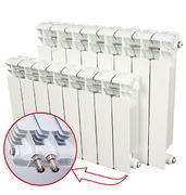Алюминиевый радиатор отопления Rifar Alum Ventil 500 / 5 секций