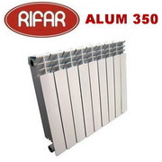 Алюминиевый радиатор отопления Rifar Alum 350 / 4 секции