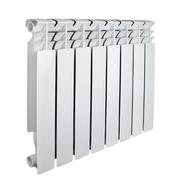Алюминиевый радиатор отопления Valfex Base Alu 500 / 8 секций