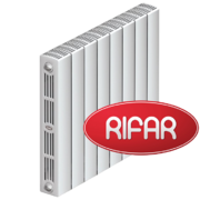 Биметаллический радиатор Rifar Supremo 500/8 секций