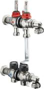 """Коллектор Oventrop Multidis SF 1"""" 1404352 два контура для теплого пола"""