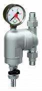 """Самопромывной фильтр тонкой очистки FAR 1/2"""" НР/НР, 100 мкм, с манометром и поворотным соединением (FA 39A4 12100)"""
