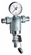 """Самопромывной фильтр тонкой очистки FAR 1/2"""" НР/НР, с манометром, 100 мкм FA 3944 12100"""