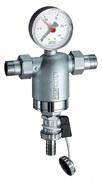 """Самопромывной фильтр тонкой очистки FAR 3/4"""" НР/НР, с манометром, 100 мкм FA 3944 34100"""