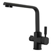 Смеситель для кухни (под фильтр) KAISER Decor 40144-2 Black Marble