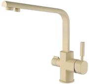 Смеситель для кухни (под фильтр) песочно-желтый KAISER Decor 40144-6 Sand Yellow