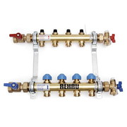 HKV 6 Коллектор Rehau Rautitan для разводки напольного и радиаторного отопления HKV 6 контуров