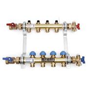 HKV 10 Коллектор Rehau Rautitan для разводки напольного и радиаторного отопления HKV 10 контуров