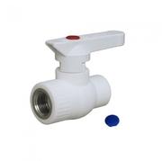 Кран шаровой PP-R комбинированный с внутренней резьбой 20 х 1/2 ВР