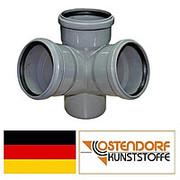 Крестовина угловая D 110/110/110х67° Ostendorf HTED