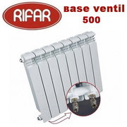 Rifar Base Ventil 500/6 Биметаллический Радиатор Rifar Base Ventil 500/6 секции