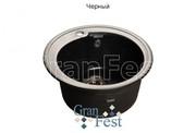 Мойка для кухни GranFest Rondo GF-R450 черный