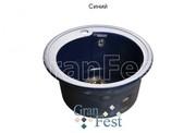 Мойка для кухни GranFest Rondo GF-R450 синий
