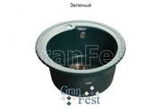Мойка для кухни GranFest Rondo GF-R450 зеленый