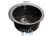 Мойка для кухни GranFest Rondo GF-R480 черный
