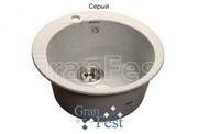 Мойка для кухни GranFest Rondo GF-R480 серый