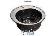 Мойка для кухни GranFest Rondo GF-R510 черный
