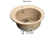 Мойка для кухни GranFest Rondo GF-R510 песочный