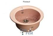 Мойка для кухни GranFest Rondo GF-R510 розовый