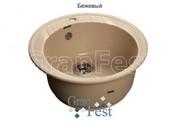 Мойка для кухни GranFest Rondo GF-R520 бежевый