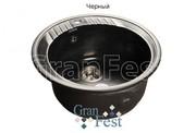 Мойка для кухни GranFest Rondo GF-R520 черный