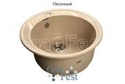 Мойка для кухни GranFest Rondo GF-R520 песочный