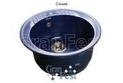 Мойка для кухни GranFest Rondo GF-R520 синий