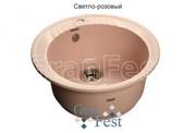 Мойка для кухни GranFest Rondo GF-R520 светло-розовый