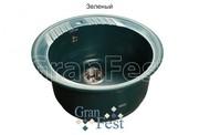 Мойка для кухни GranFest Rondo GF-R520 зеленый