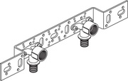 Монтажный блок Rehau RAUTITAN для скрытого монтажа O 75/150 короткого