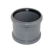 Муфта ПВХ канализационная ПП ремонтная Ду 110 мм