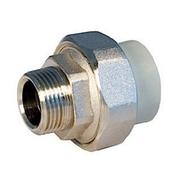 """Муфта с разъемным соединением FV-PLAST d50х1"""" 1/4 мм"""