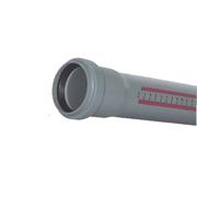 Труба пластиковая канализационная 125/2000 НТЕМ Ostendorf