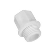 Заглушка полипропиленовая резьбовая длинная Valfex 20 х 1/2 мм