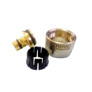Резьбозажимное соединение 20x2.9xG3/4 Rehau Rautitan Stabil