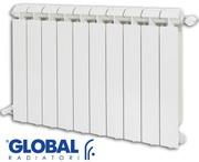Алюминиевый Радиатор Global Klass 350/14 секции