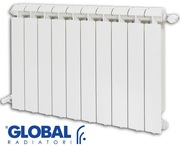 Алюминиевый Радиатор Global Klass 350/10 секции