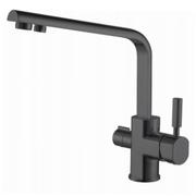 Смеситель для кухни (под фильтр) KAISER Decor 40144-9 Black