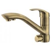 Смеситель с краном под фильтр для кухни KAISER Venus Bronze 39066-3 Бронза