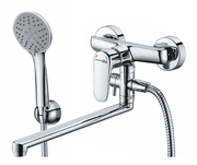 Смеситель для ванны с длинным поворотным изливом Vils 5602L