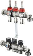 """Коллектор Oventrop Multidis SF 1"""" 1404353 три контура для теплого пола"""
