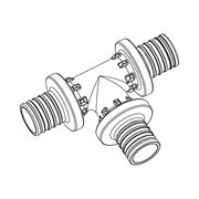 Тройник Rehau Rautherm S 25-25-25