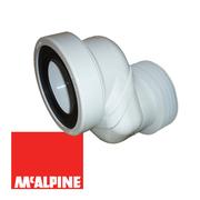 Труба фановая D90-110 мм McAlpine WCLO-10 со смещением 100 мм