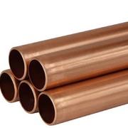 Труба медная неотожженная в хлыстах Wieland Sanco 35x1 мм (в штангах по 5 м)