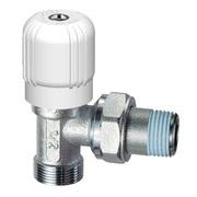 Вентиль угловой регулирующий Far 1/2 НР FV 1050 C12 (М24x19)